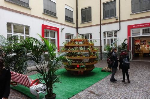 garden foodweek at location spazio bergognone