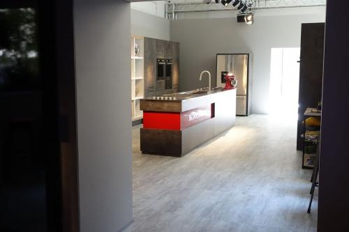 kitchen aid corner at Milan design week